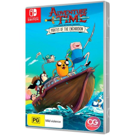 Jogo Adventure Time Pirates Of The Enchiridion - Switch