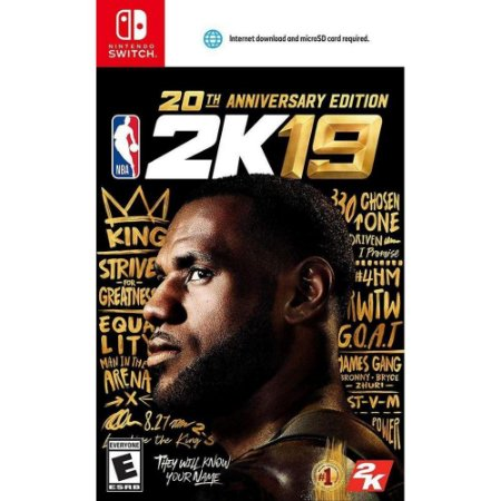 NBA 2K19 20th Anniversary Edition - Switch