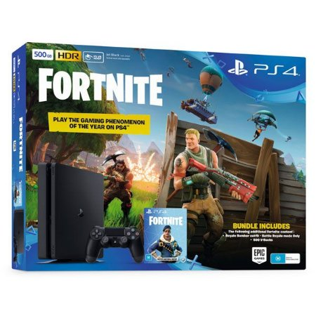 CONSOLE PLAYSTATION 4 SLIM 500GB 2116A FORTNITE BUNDLE