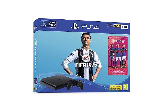 Console Playstation 4 Slim 1TB Bundle - FIFA 19