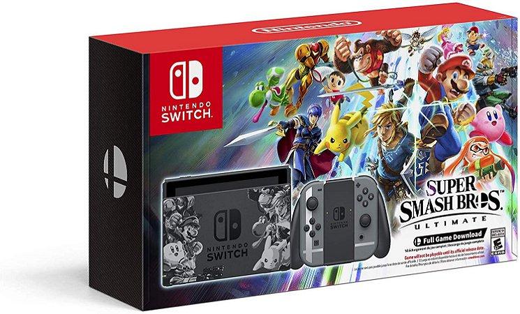 Console Nintendo Super Super Smash Bros. Ultimate Edition - Switch