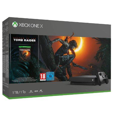 Console Xbox X 1Tb Standard C/ Shadow of the tomb rider
