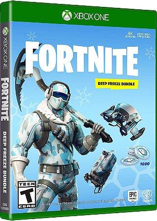 Fortnite Pacotão Congelamento Profundo - Xbox One