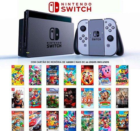Console Nintendo Switch C/22 Jogos