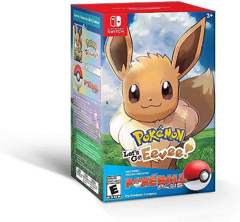 Pokemon Let's Go Eevee! + Poke Ball Plus - Switch