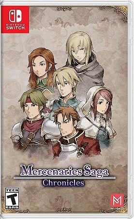Jogo Mercenaries Saga Chronicles - Switch