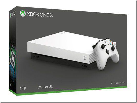 Console Xbox One X 1tb Branco