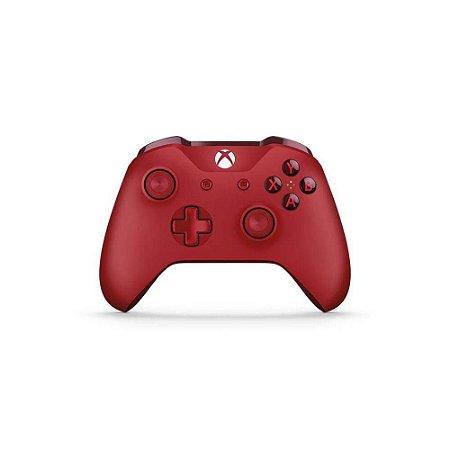 Controle Sem Fio Edição Especial Vermelho  Microsoft - Xbox One