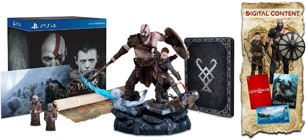 Jogo God Of War Collectors Edition - Ps4