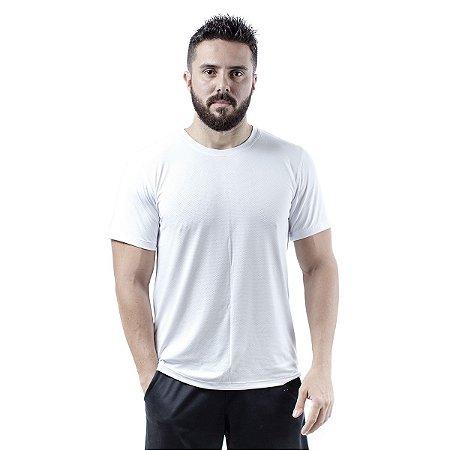 Camiseta Masculina Dry Fit - Branco