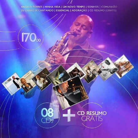 09 CDs de Angelo Torres - FRETE INCLUSO