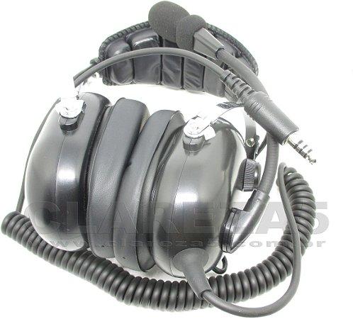 Headset de helicóptero, fone para piloto aluno ou profissional asa rotativa PPH PCH INVA PLA, passageiro