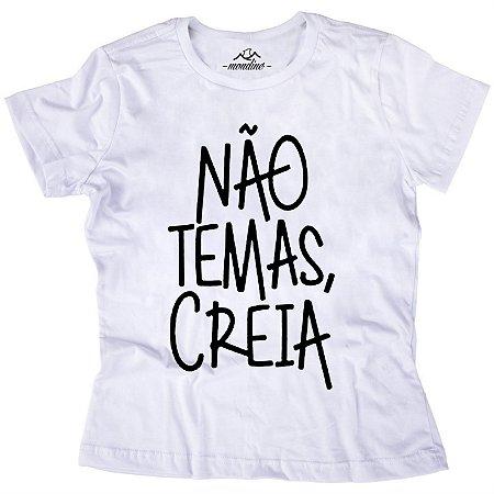 Babylook Não Temas, Creia - Mondine