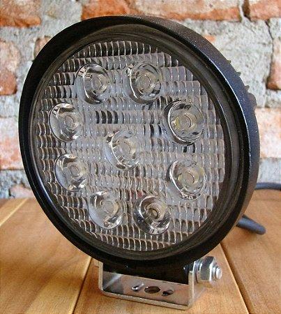 Farol Auxiliar LED 27W - Par