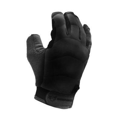 Luva em couro sintético Guepardo Breeze Black M com proteção UV
