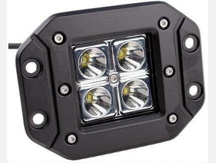 Farol Embutir em LED 16W - Par