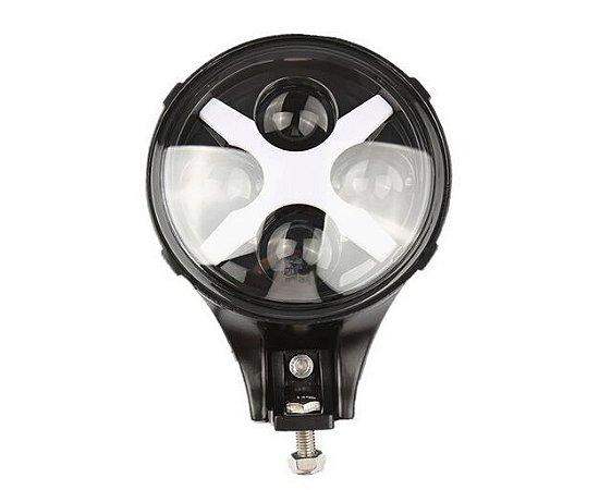 Farol Auxiliar em LED com DRL - Par