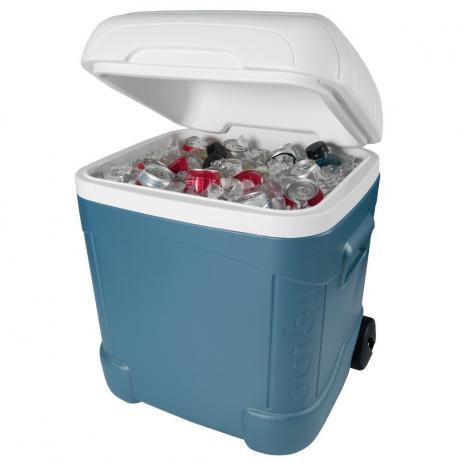 Caixa térmica Igloo de 66 litros de máximo desempenho e com rodas Max Cold 70 QT Ice Cube