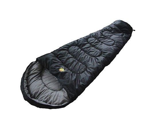 Saco de Dormir Ultralight 5ºC à 15ºC - Preto