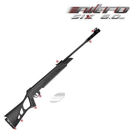 Carabina de Pressão CBC Nitro Six 6.0 mm