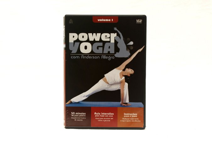 DVD Power Yoga Vol.1