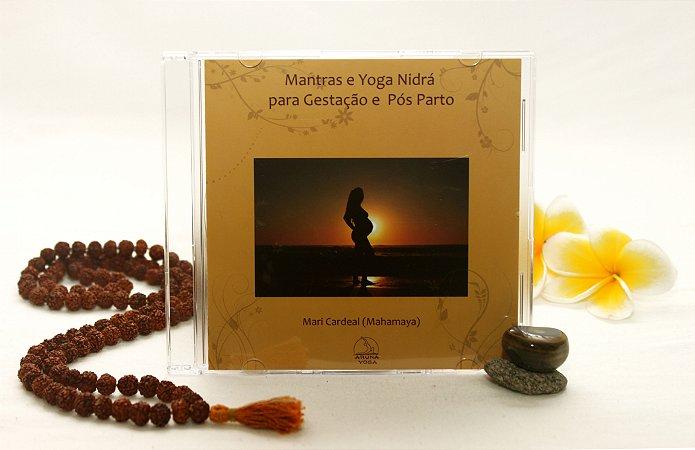 CD Mantras e Yoga Nidra para Gestação e Pós Parto