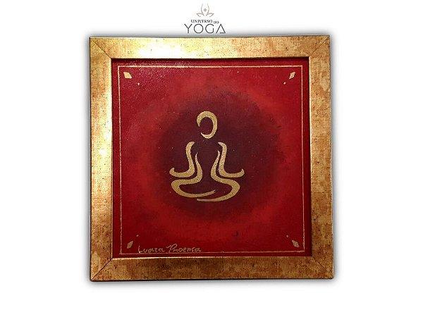 Quadro para decoração Meditação