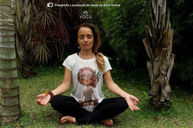 Camiseta Yoga - Meditação