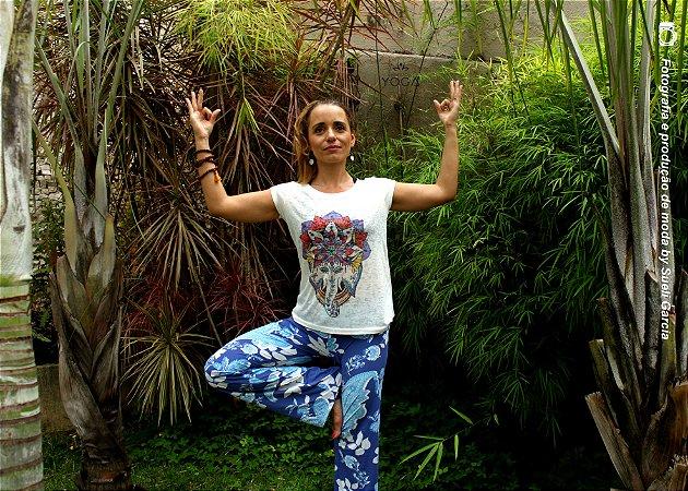 Camiseta Yoga - Ganesha
