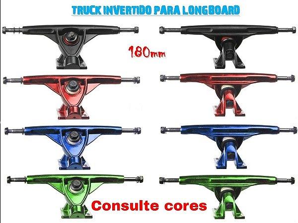 Truck Longboard 180mm Invertido Creme Importado