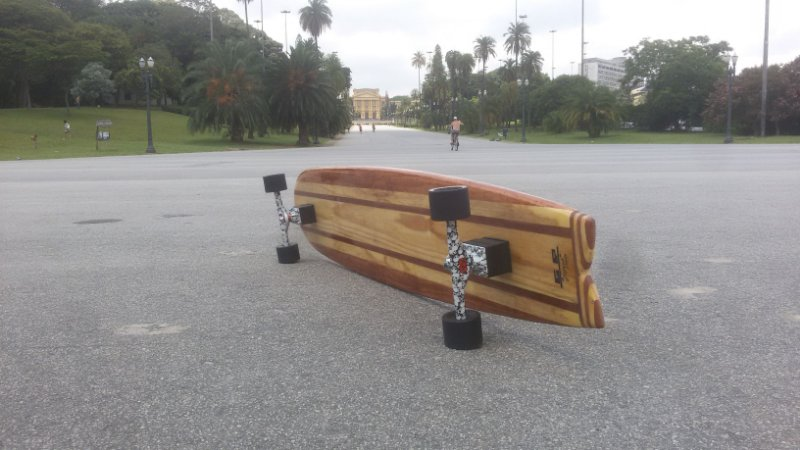 Longboard Classic 1,52m Montado