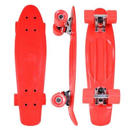 "Skate Mini Cruiser Creme 22"" Importado"