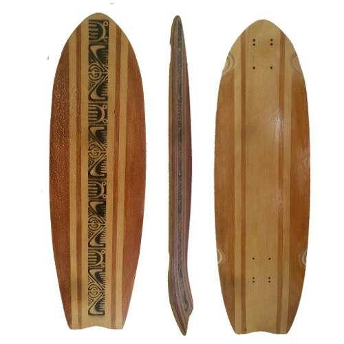 Shape Cruiser Simulador De Surf 82cm X 25cm Lixa Resinada