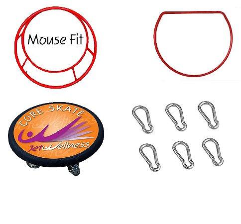Kit Neopilates Mousefit + Lira +Coreskate + Mosquetões