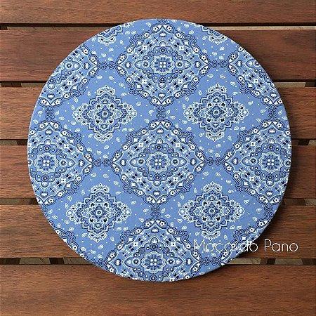 Capa de Sousplat Bandana Azul