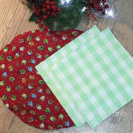 Conjunto Natal Luvinhas 4 Peças