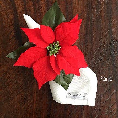 Porta Guardanapo Natal Flor do Espírito Santo Grande