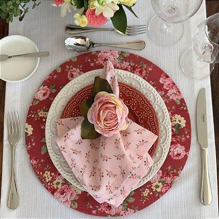 Capa de Sousplat Floral Jolie