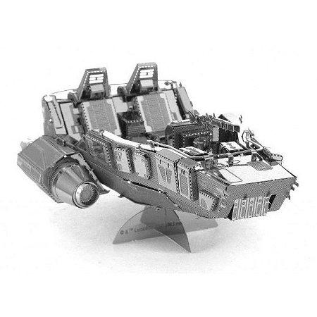 First Order Snow Speeder Star Wars - 3D Metal Model - Quebra Cabeça 3D