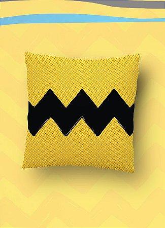Almofada Charlie Brown (Pequena 30x30cm)