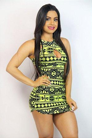 Vestido Estampado - Coleção Color Fit