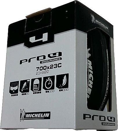 Pneu Michelin Pro4 Endurance 700x23 Road - Preto