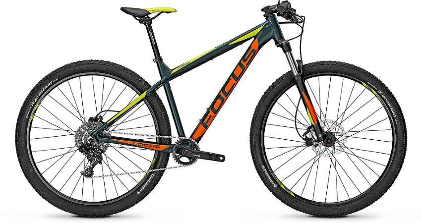 Bicicleta Mtb Focus Whistler Sl 29 1x11 Sram Cinza/Laranja Tamanho M