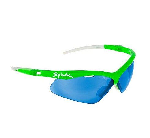 Óculos Spiuk Ventix Verde com lentes Azul + 2 Lentes