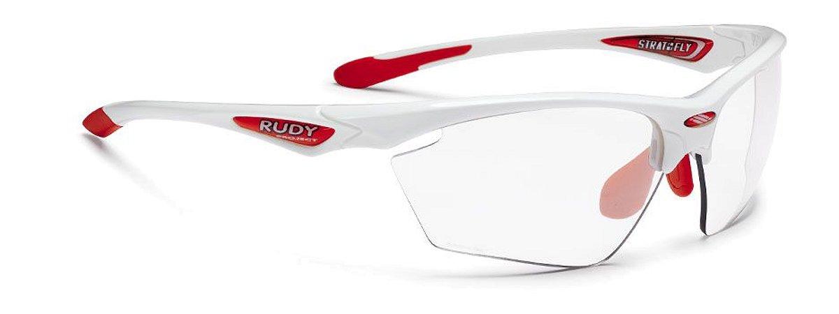 Óculos Rudy Project Stratofly Lentes Fotocromática Branco