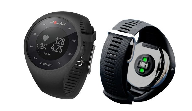 Relógio Polar M200 Monitor Hrm Pulso Gps Preto