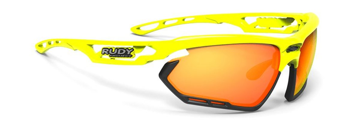 Óculos Ciclismo Rudy Project Fotonyk Amarelo Fluor