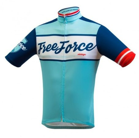 Camisa Free Force Old School Azul