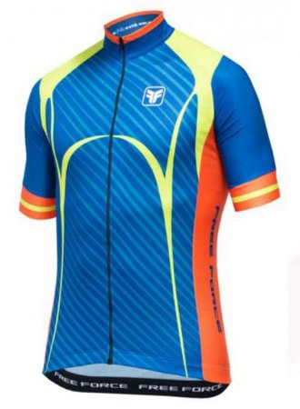 Camisa Free Force Scar Azul Ciclismo