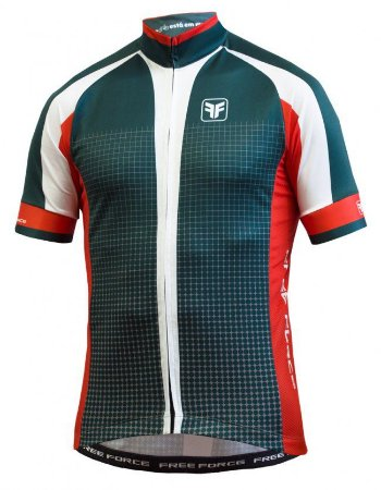 Camisa Free Force Square Cinza Ciclismo